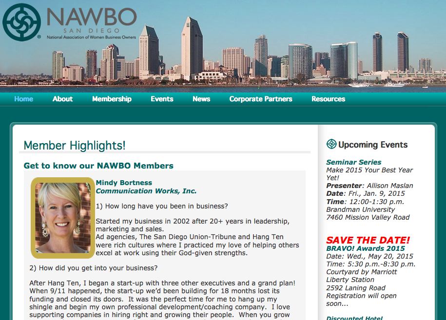 NAWBO Member Highlights - Mindy Bortness